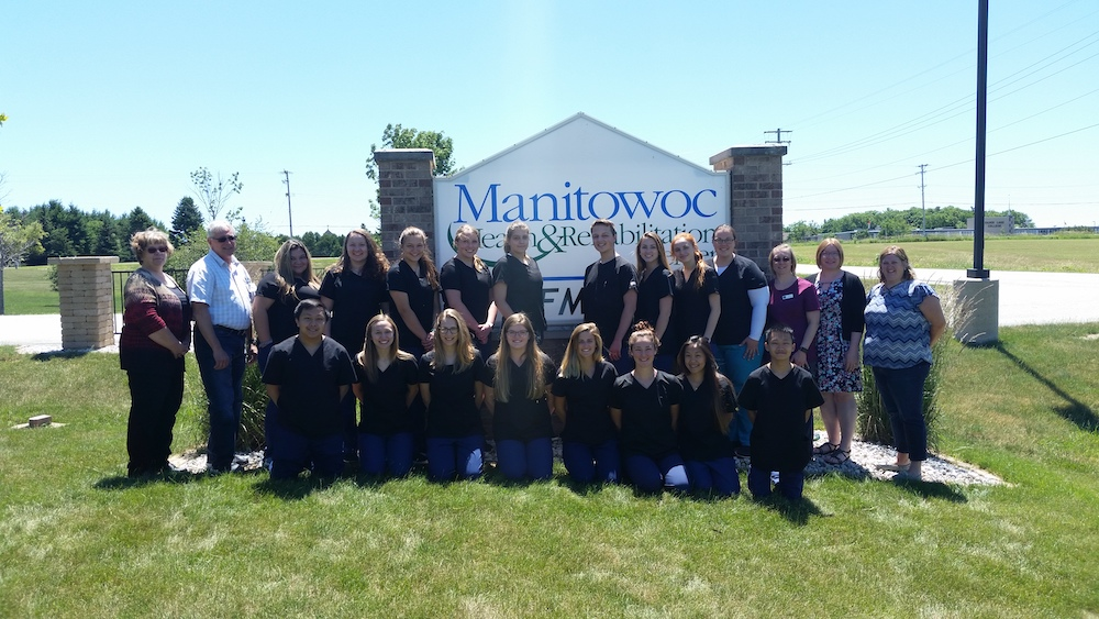 Manitowoc CNA students | Quality CNA Training of Wisconsin