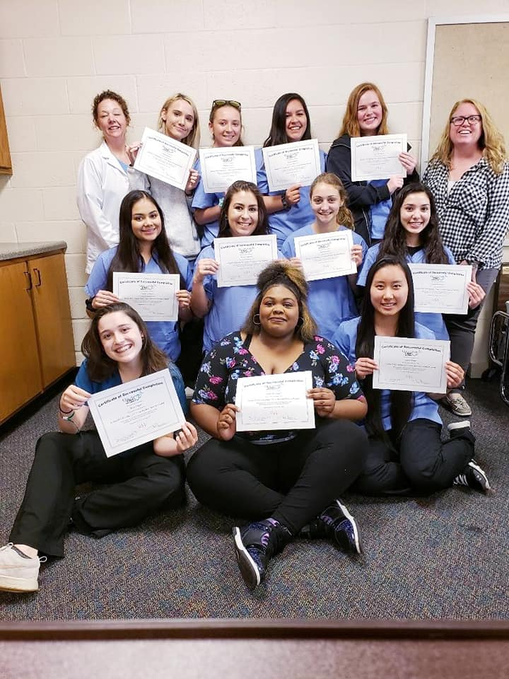 Fond du Lac CNA Students